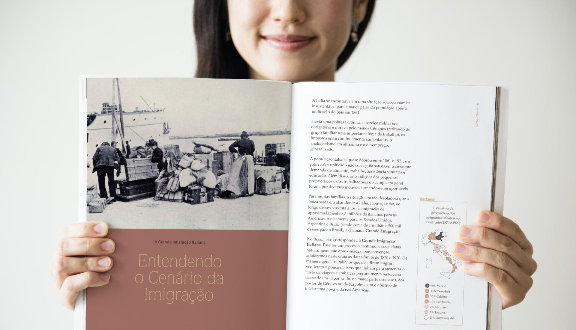 Guia Pratico Genealogia Cidadania Italiana - book aberto-v